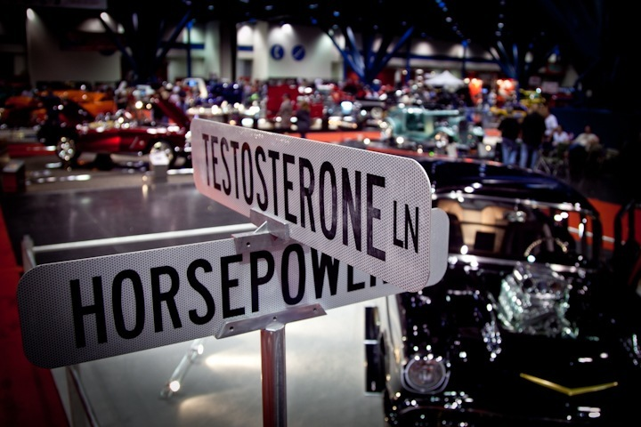 testosterone sign